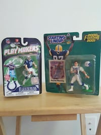 """Peyton Manning 3"""" figs Starting Lineup PlayMakers Fishers, 46038"""