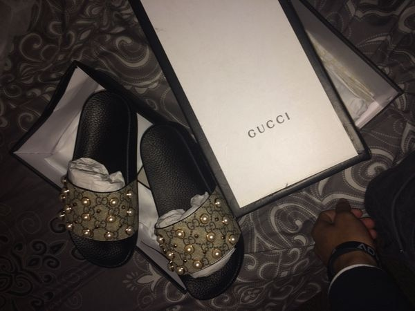 1e2845f2cf54 Used gucci slides women for sale in Forest Park - letgo