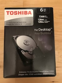 Toshiba 3.5 inch internal hard drive Ellenwood, 30294