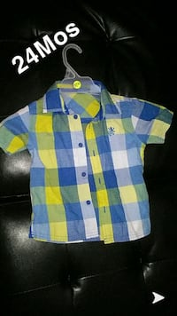 24 month boy shirt.