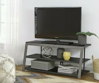Rollynx Black TV Stand | W326-10 Houston, 77036