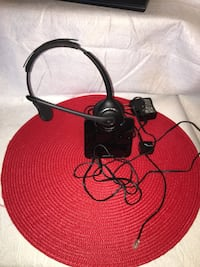 red and black corded headphones Frederick