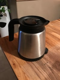 black and gray electric kettle Stone Mills, K0K