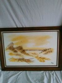 wooden framed painting  Hagerstown