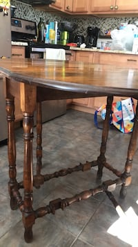 Antique Table with side leafs