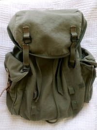 Unisex Green Gap canvas backpack Los Angeles, 90020