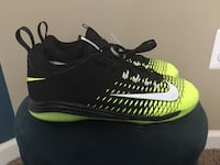 Nike black and vapor Mike Trout baseball cleats