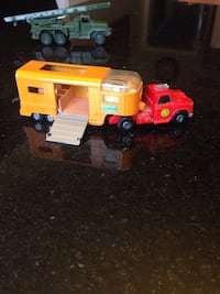 Vintage Matchbox truck and horse trailer 1970s