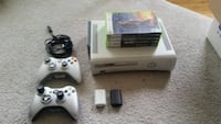 Xbox 360 - 2 Controllers - Plug and Play - Games Fairfax