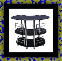 12911 bar glass table Capitol Heights, 20743