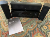 Yamaha Receiver with center, L&R speakers Virginia Beach, 23452