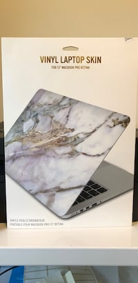 Vinyl Laptop Skin for 13 inch MacBook Pro Retina  University Park, 75205
