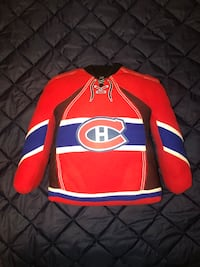 Montreal Canadiens Jersey Pillow