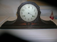 Old (true antique-100 Plus yrs old) Waterbury Mantle Clock Springfield