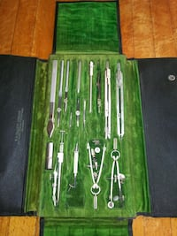 VINTAGE DRAFTING SET