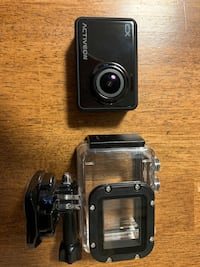 Activeon cx camera and waterproof case