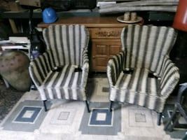 2exterior wicker chairs excellent shape