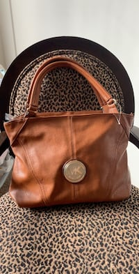brown Michael Kors leather backpack Silver Spring, 20904
