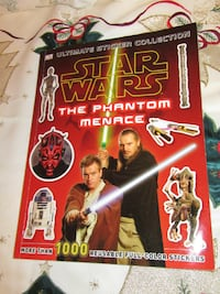 STAR WARS!Ultimate Sticker Collection: Star Wars: The Phantom Menace