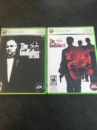 Godfather Xbox 360 Games! $10 for BOTH!  Montréal, H3H 2G9