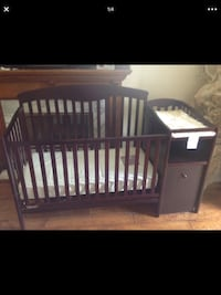 Baby's brown wooden crib Downey, 90242