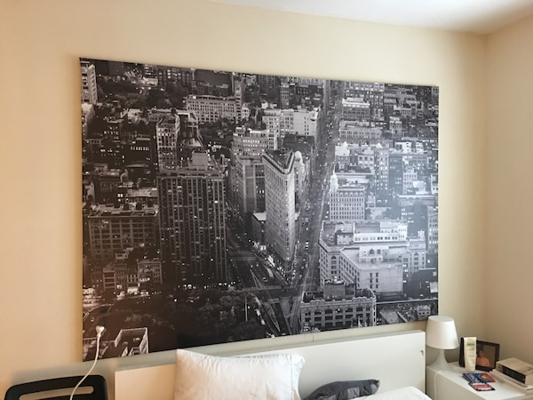 Used Ikea Premiar Flatiron Building Nyc Picture With Framecanvas