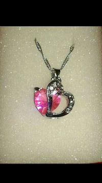 New heart shaped pendant 18 in chain Tucson, 85710