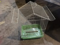 white and green pet cage Williams, 17098