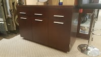 Modern wooden sideboard or server on clearance