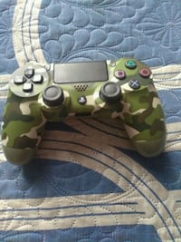 brown and green camouflage Sony PS4 controller Los Angeles, 90003