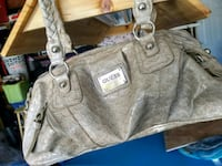 gray and white leather tote bag Fullerton, 92832