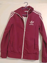red and white Adidas zip-up jacket Niagara Falls, L2H
