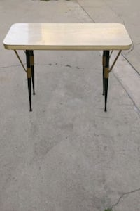 Entry table hallway table mid century style