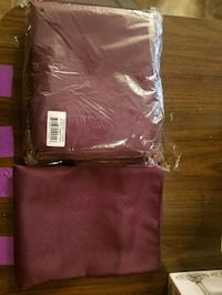 20/20 Eggplant Napkins 65 and 8 120rountablecloths Snellville