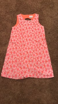 pink and white floral sleeveless dress Elgin, 78621