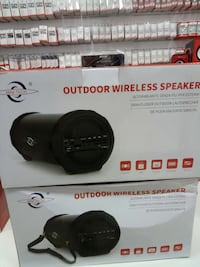 due casse acustiche wireless outdoor
