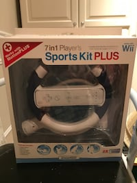 7 en 1 Sports kit Plus 7 in 1 fonctionne avec / works with Wii 781 km