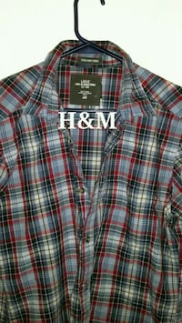 Men's Medium H&M Plaid Shirt  Toronto, M6M 1T1