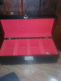Used Crocidile Skin With Key 8 Track Box For Sale In