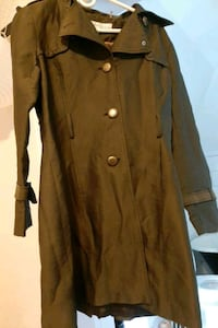 Dark Green Trench Coat