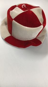 Red and white jester hat Vienna, 22180