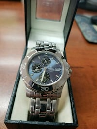 stainless steel festina watch with blue dail Mississauga, L5S 1L9