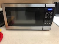 Gray and black microwave oven Springdale, 72764