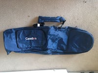 Extra long travel bag with carrying strap, like new!