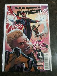 Uncanny X-Men #1 comic book Marvel  Toronto, M3C 4C5