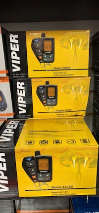 New viper car alarm system with installation and paging remote  Hayward, 94541