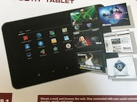 """9"""" android tablet new unopened box"""