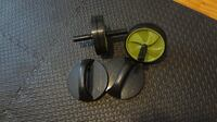 2 Ab exercise rollers + 1 pair Swivel Push Up Bars MONTREAL