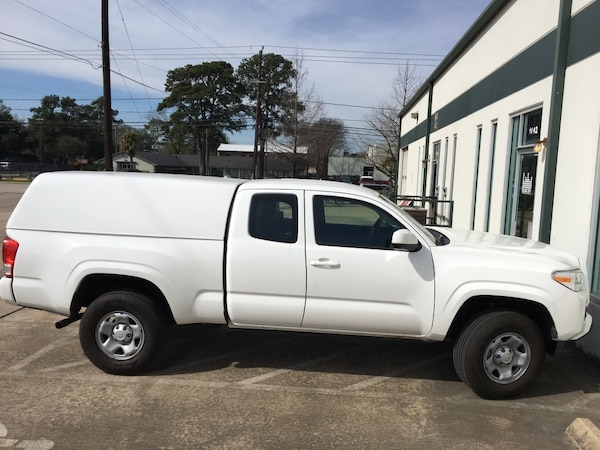 Toyota Tacoma Camper Shell For Sale >> White Camper Shell For 2017 Tacoma
