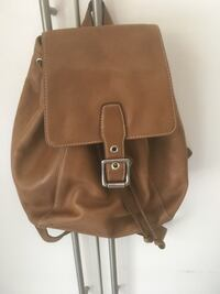 Coach Light Brown leather bucket backpack. Ottawa, K4A 2P8